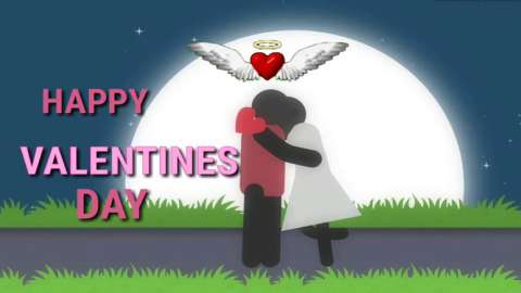 Valentine Day Funny Love Status Video Message