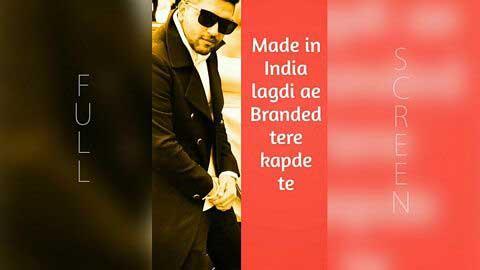 Made In India Punjabi Video Song Status 2018