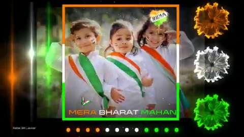 Mera Bharat Mahan Kids Song Status Video