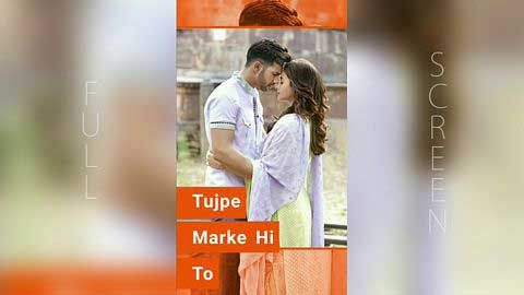 Tere Sang Yaara Cute Hindi Status