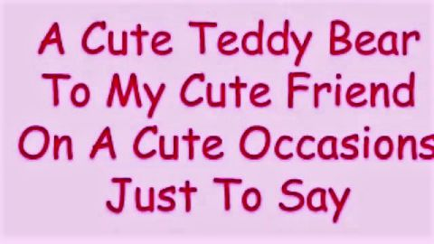 Teddy Day Sayings Whatsapp Status Video Download
