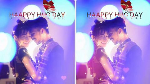 Most Beautiful Love Song Status For Hug Day Special Wish Couple
