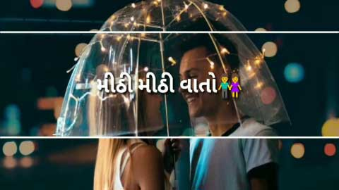 Chaand Ne Kaho Aaje Best Gujarati Song Video Status