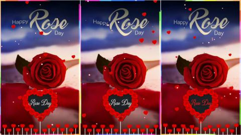 Tere Liye Sirf Rose Day Wishes Full Screen Video Song Status
