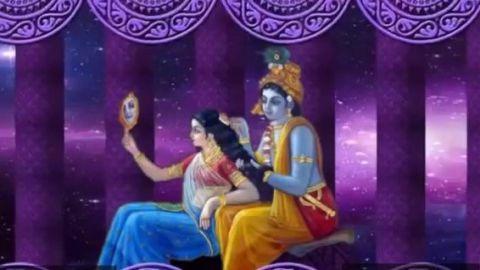 Achyutam Keshavam Krishna Bhajan Video Status