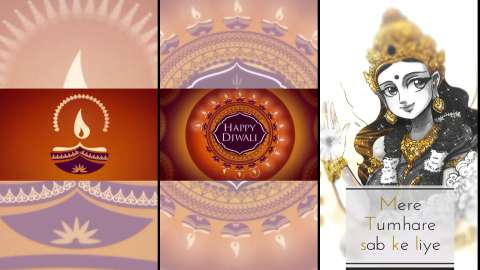 Wishing You Happy Diwali Full Screen Dipavali Status