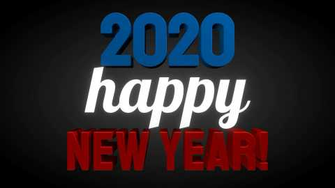 Most Beautiful Happy New Year Wishes 2020 Video Status