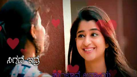 Kannad Cute Love Story New Status Video