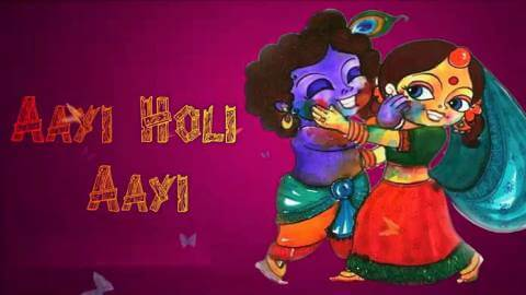 Best Radha Krishna Holi Status Whatsapp Video