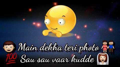 Mai dekha teri photo whatsapp video status