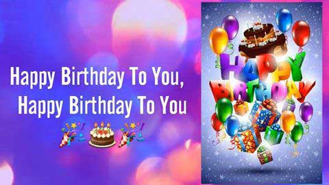 Hindi Birthday Wishes Whatsapp Status Video Baar Baar Din Yeh Aaye