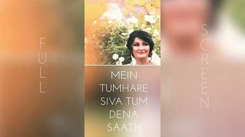 Tum Dena Saath Mera Romantic Whatsapp Status