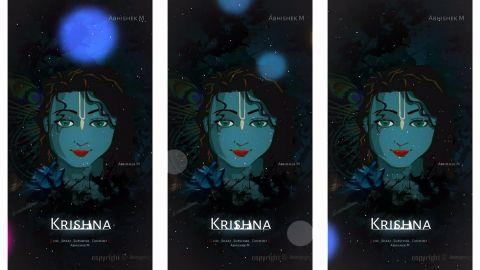 Krishna Flute Music Video Status
