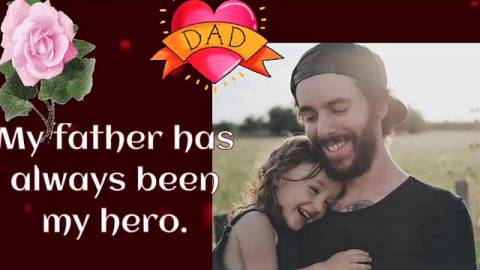 Happy Fathers Day Wishes Greetings Video Whatsaap Status