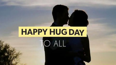 Happy Hug Day To All Wish Status Video Download