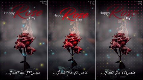 Heart Fire On Rose Day Special Status Video Song