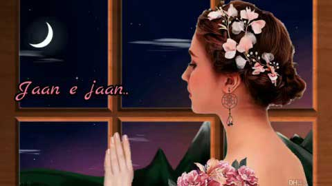 Chand Bhi Le Aaoon Jaan E Jaan Good Night Status Video