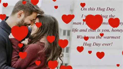Hug Day Special Greeting Messages Status Video