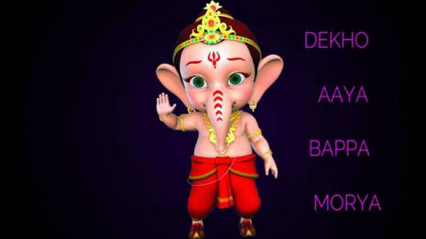 Aaya Bappa Morya Song Status Video