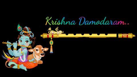 Achyutam Keshavam Krishna God Status Download