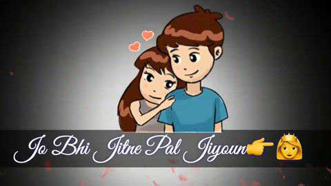 Jo Bhi Jitne Pal Jiyu Very Sad Status Video Download