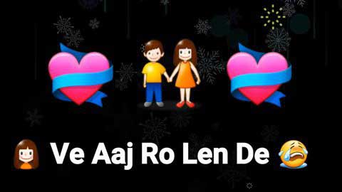 Aaj Ro Len De Sad Whatsapp Video Status Download 2019
