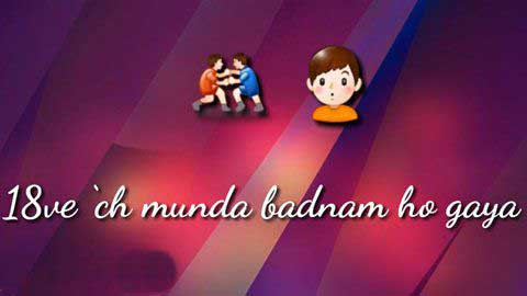 Badnam Yo Gaya Punjabi Video Status Download