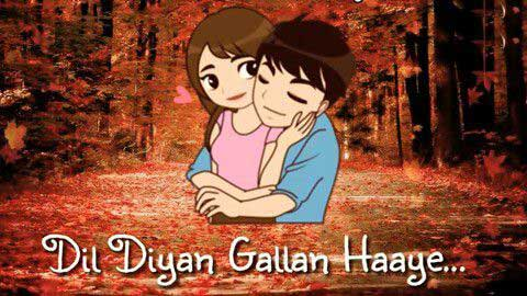 Dil Diyan Gallan Love Video Status Free Download