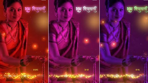 Diwali Fullscreen Status Video For Whatsapp Download