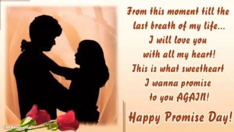 Happy Promise Day 2020 Messages Images Status Download