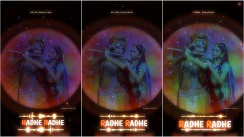 Radhe Radhe Song Status For Janmashtami