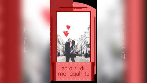 Zara Si Dil Mein De Jaga Tu Full Screen Status Video Download