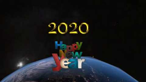 Happy New Year Celebration Video Status