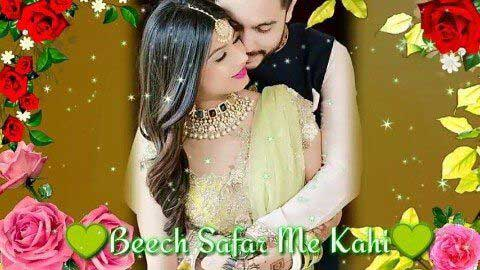 Beech Safar Me Kahi - Status video hd