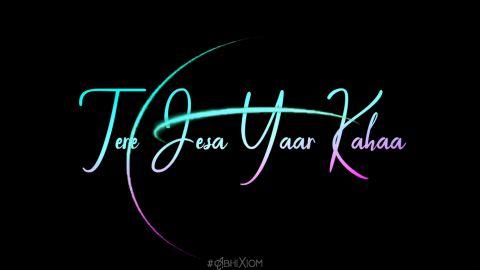 Tujhe Rab Mana Hindi Love Status