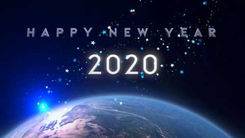 Happy New Year 2020 Animated Whatsapp Status Video