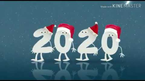 Amazing 3d Happy New Year 2020 Wishes Video