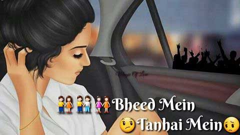 Bheed Mein Tanhai Mein Status Video Song