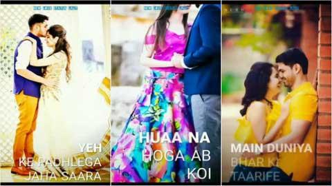 Hua Hain Aaj Pehli Baar Full Screen Status Video New