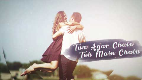 Tum Agar Chalo Toh Main Chalu Love Status Video
