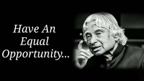 All Of Us - Dr A P J Abdul Kalam - Motivational