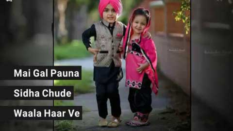 Mere Wala Sardar Baby Version Best Punjabi Love Whatsapp Status Video