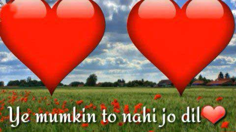 Yeh Mumkin Toh Nahi Love Whatsapp Status In Hindi