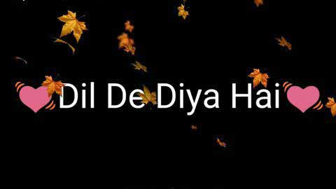 Dil De Diya Hai Sad Whatsapp Video Status Hd